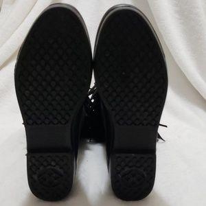 DAV Shoes - DAV Sydney Mid Calf Wellington Fringe